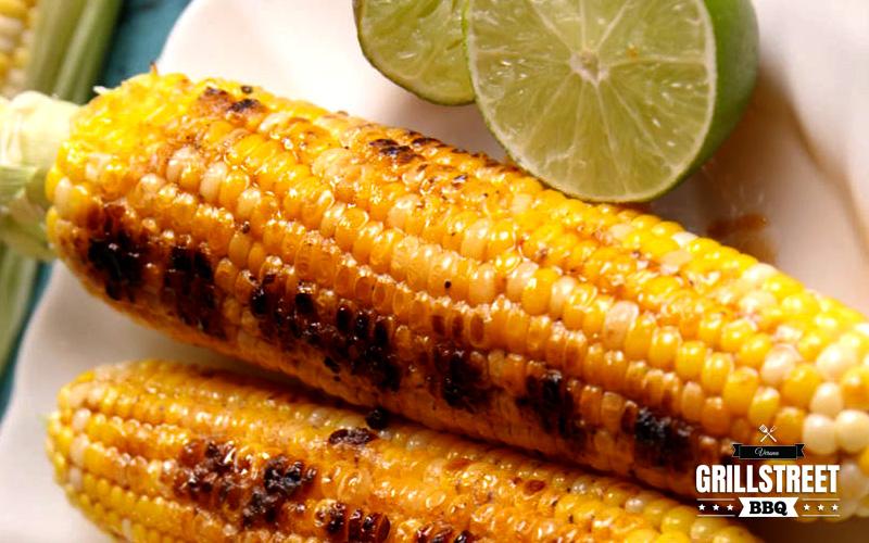 Grilled corn - Grill Street BBQ