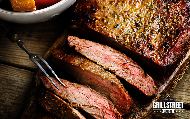 Flank steak grill