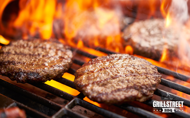 Hamburger scottona BBQ e Grigliato